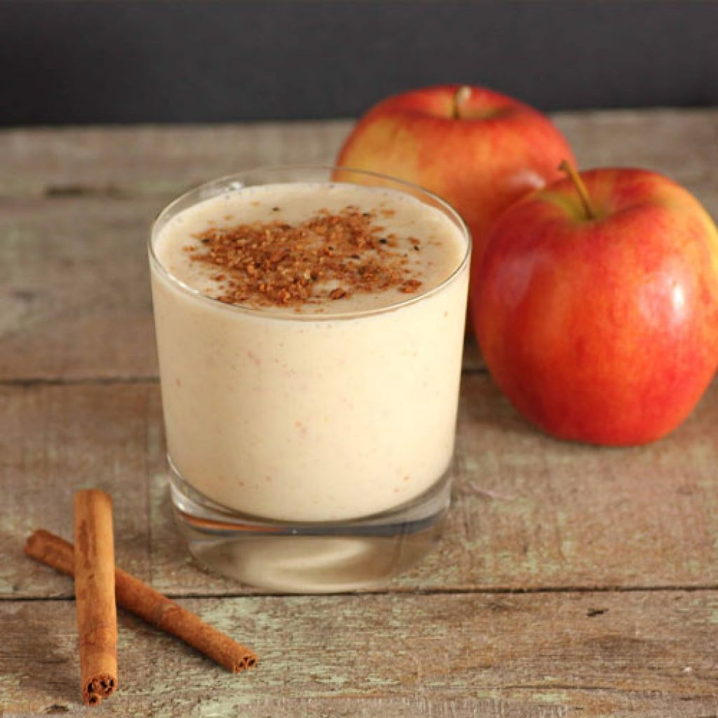 cinnamon apple pie shake