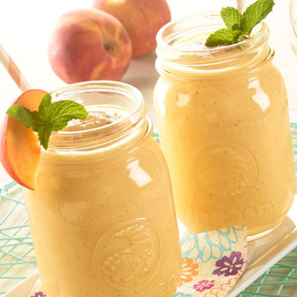 peachy freeze shake