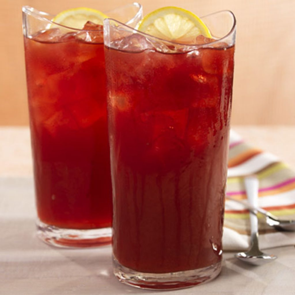 pomegranate iced tea 1