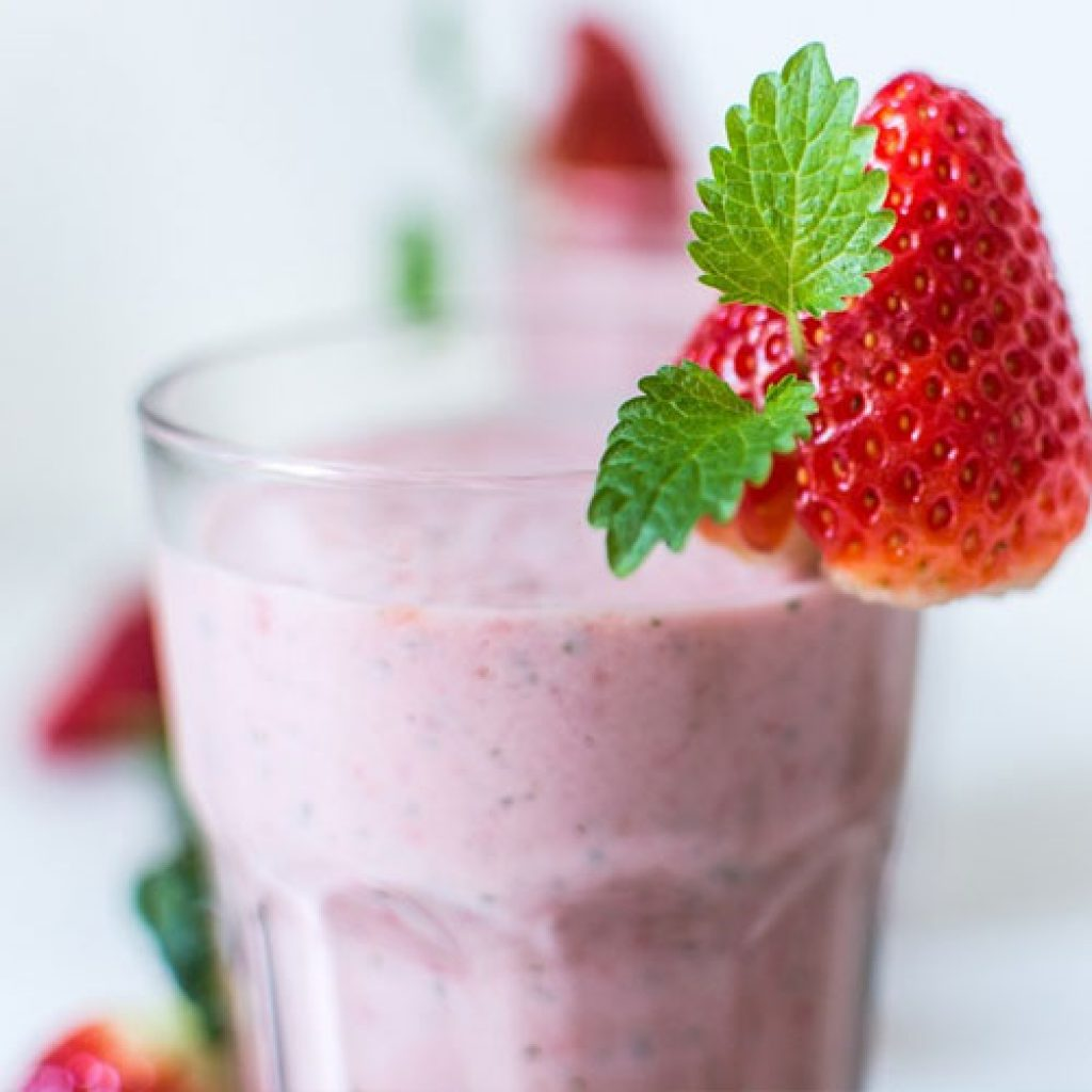 summer in a glass shake